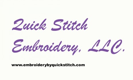 Quick Stitch Embroidery
